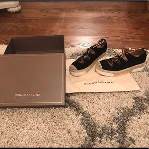BCBG Max Azria Triniti Sneaker/Espadrille SZ. 37/7
